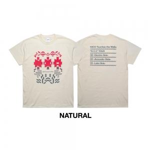 """""""N X A"""" Tシャツ(ナチュラル)"""