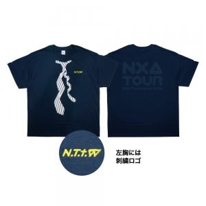 TWISTネクタイTシャツ (ビッグシルエット)